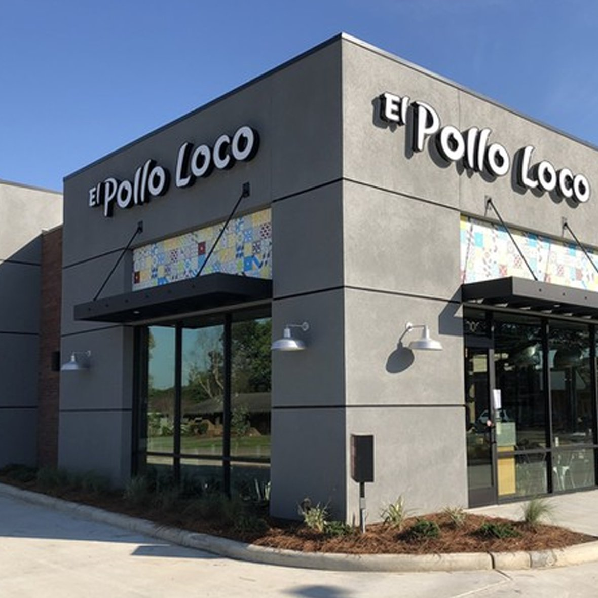 Exterior view of El Pollo Loco restaurant