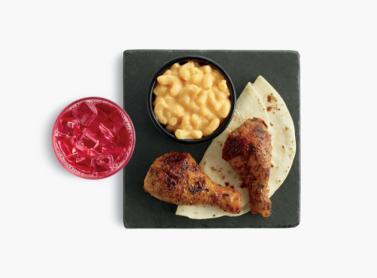 Two-piece chicken leg Kids Meal