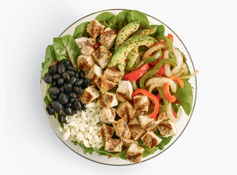 Double Protein Fajita Pollo Fit Bowl