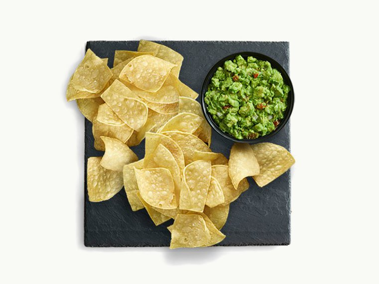 Value Menu - Chips and Guacamole