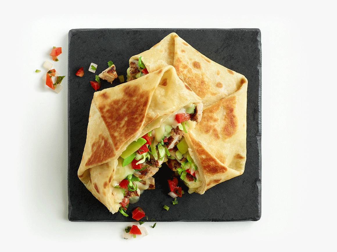 Overstuffed Quesadillas