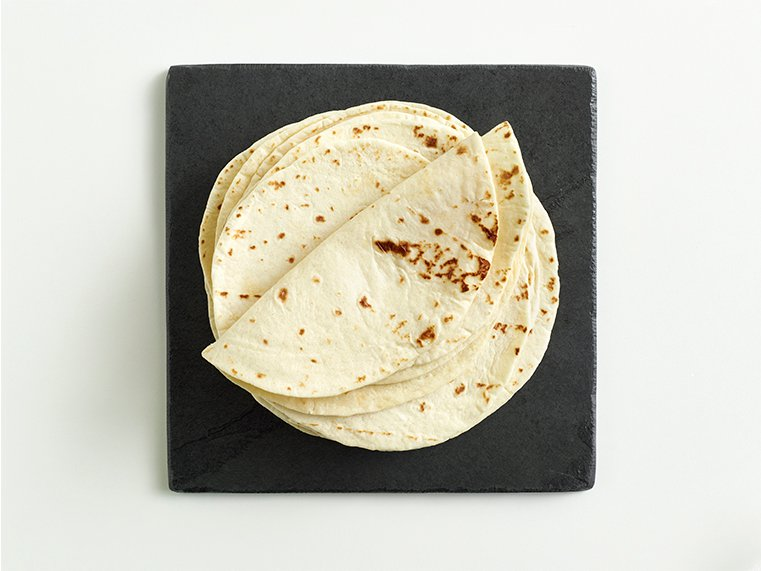 "Sides, Drinks & Extras - 6"" Flour Tortillas"